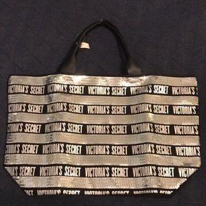 Victoria's Secret Tote Bag & Clutch